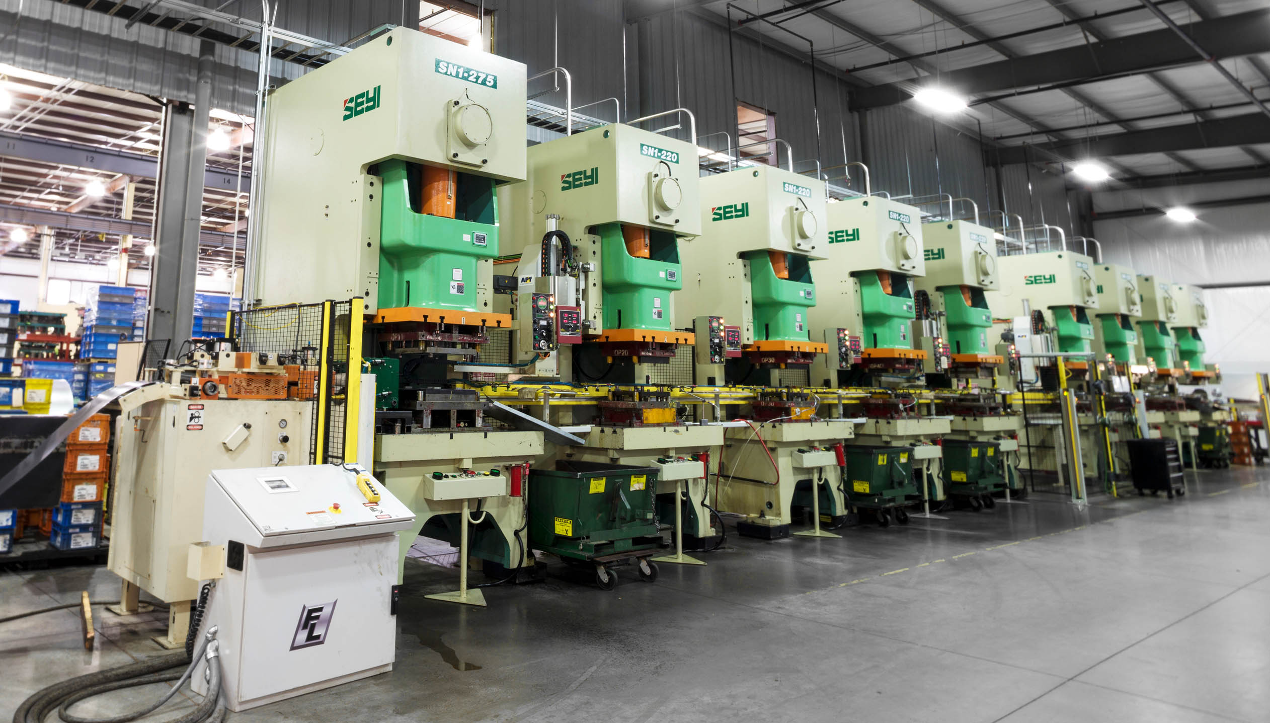 Automated Assembly Line : Great lakes metal stamping ap t