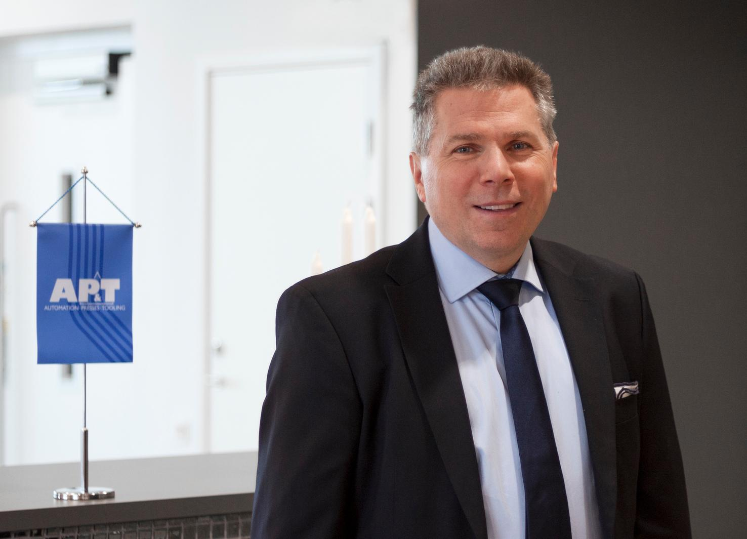 "Following its positive experience from North America, AP&T is planning to strengthen its local automation offer in several markets,"" says AP&T Director Business Development & Marketing Per Josefsson."